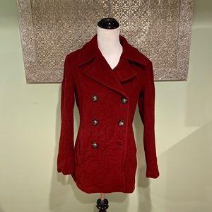 Calvin Klein Wool/Cashmere Pea Coat - IMPERFECT